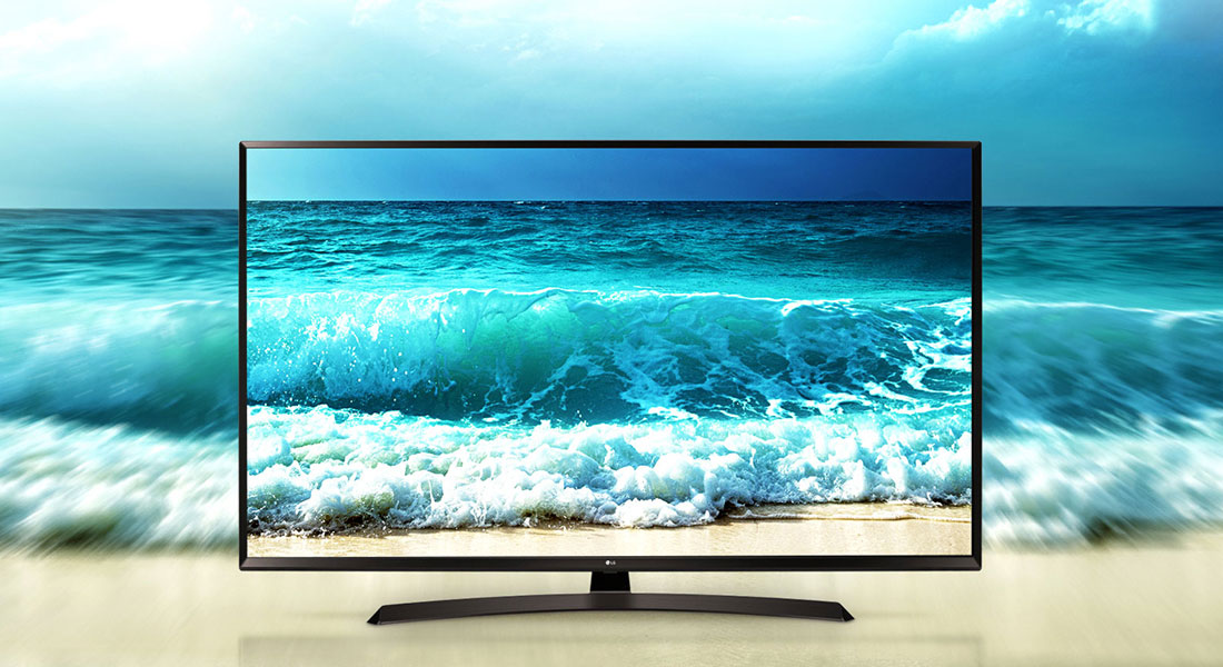 تلویزیون ال ای دی هوشمند ال جی مدل 55UJ66000GI سایز 55 اینچ