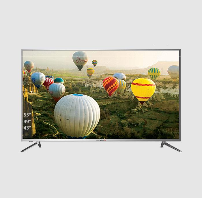 تلویزیون ال ای دی هوشمند دوو مدل DLE-55H5100-DPB سایز 55 اینچ