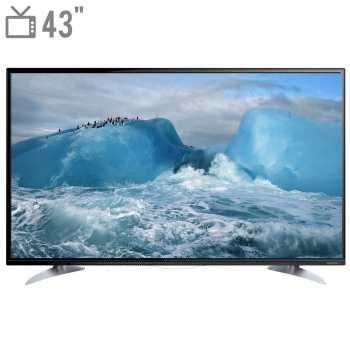 تلویزیون ال ای دی هوشمند دوو مدل DLE-43H5100-DPB سایز 43 اینچ