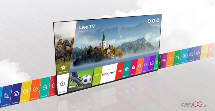تلویزیون ال ای دی هوشمند ال جی مدل 43LJ55000GI سایز 43 اینچ