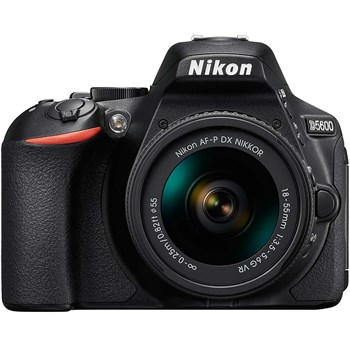 فروش اقساطی دوربين ديجيتال نيکون مدل D5600 به همراه لنز 18-55 ميلي متر VR AF-P
