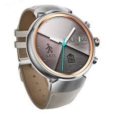 فروش اقساطی-ساعت هوشمند ایسوس زن واچ 3 مدل WI503Q Silver With Beige Leather Band