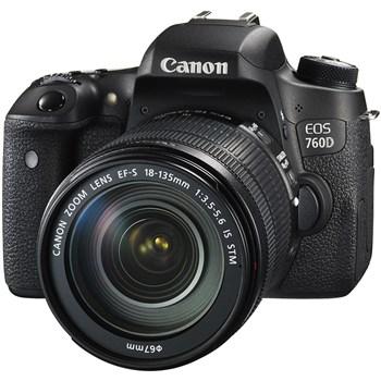فروش اقساطی دوربين ديجيتال کانن مدل EOS 760D به همراه لنز 18-135 IS STM