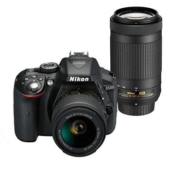 فروش اقساطی دوربین دیجیتال نیکون مدل D5300 همراه با لنز 55-18 میلی متر VR AFP
