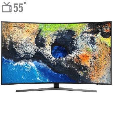 فروش اقساطی تلويزيون ال اي دي هوشمند خميده سامسونگ مدل 55MU7995 سايز 55 اينچ
