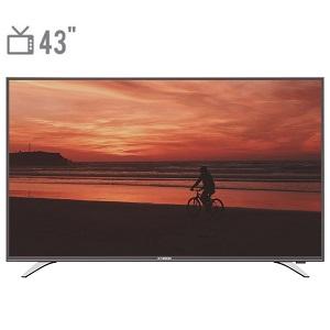 فروش اقساطی تلویزیون ال ای دی هوشمند ایکس ویژن مدل 43XT515 سایز 43 اینچ