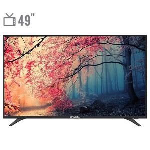 فروش اقساطی تلویزیون ال ای دی ایکس ویژن مدل 49XT520 سایز 49 اینچ