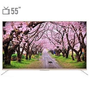 فروش اقساطی تلویزیون ال ای دی هوشمند ایکس ویژن مدل 55XTU815 سایز 55 اینچ