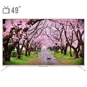 فروش اقساطی تلویزیون ال ای دی هوشمند ایکس ویژن مدل 49XTU815 سایز 49 اینچ
