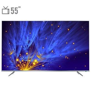 فروش اقساطی تلویزیون ال ای دی هوشمند تی سی ال مدل 55P6US سایز 55 اینچ