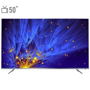 فروش اقساطی تلویزیون ال ای دی هوشمند تی سی ال مدل 50P6US سایز 50 اینچ