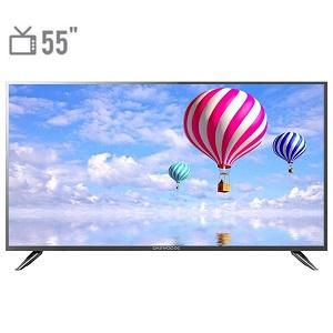 فروش اقساطی تلویزیون ال ای دی دوو مدل DLE-55H1800-DPB سایز 55 اینچ