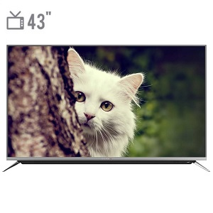 فروش اقساطی تلویزیون ال ای دی هوشمند دوو مدل DUHD-43H7000-DPB سایز 43 اینچ