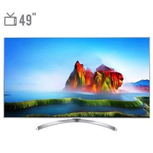 فروش اقساطی تلویزیون ال ای دی هوشمند ال جی مدل 49SJ80000 سایز 49 اینچ