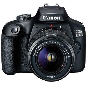 فروش اقساطی دوربین دیجیتال کانن مدل EOS 4000D به همراه لنز 18-55 میلی متر DC III