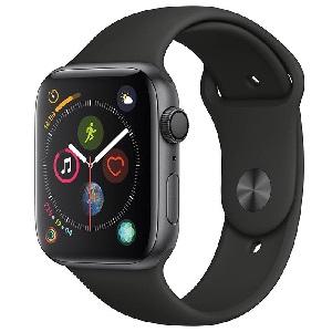 فروش اقساطی ساعت هوشمند اپل واچ سری 4 مدل 44mm Space Gray Aluminum Case With Black Sport Band