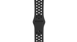 فروش اقساطی ساعت هوشمند اپل واچ سری 3 مدلNike Plus 38mm Space Gray Aluminum Case with Anthracite/Black Nike Sport Band