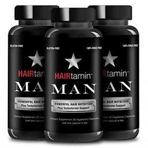 فروش اقساطی پک سه تایی قرص تقویت کننده مو هیرتامین مخصوص آقایان