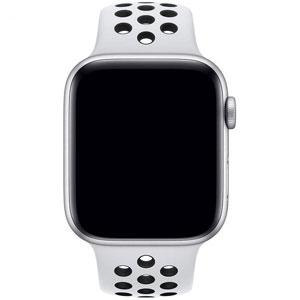 فروش اقساطی ساعت هوشمند اپل واچ 4 مدل Nike 40mm Silver Aluminum Case with Pure Platinum/Black Nike Sport Band