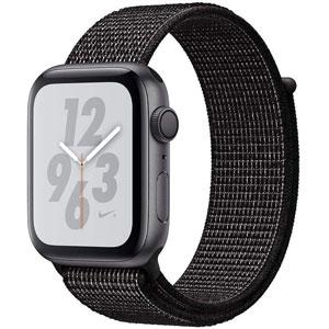 فروش اقساطی ساعت هوشمند اپل واچ سری 4 مدل Nike 44mm Space Gray Aluminum Case with Black Nike Sport Loop