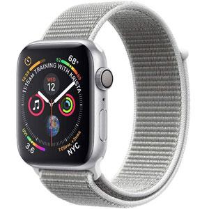 فروش اقساطی ساعت هوشمند اپل واچ 4 مدل 40mm Silver Aluminum Case with Seashell Sport Loop Band