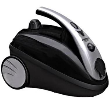 خرید اقساطی بخارشو 2000 وات مشکی نقره ای دلمونتی DL200
