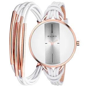 فروش اقساطی ساعت مچی عقربه ای زنانه الیکسا مدل E096-L373-K1
