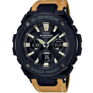 فروش اقساطی ساعت مچی عقربه ای مردانه کاسیو جی شاک مدل GST-S120L-1BDR