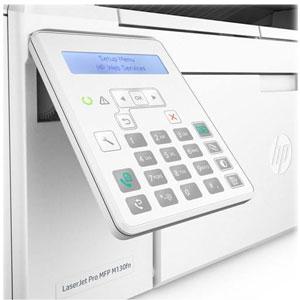 فروش اقساطی پرینتر لیزری چندکاره اچ پی مدل LaserJet Pro MFP M130fn با گوشی اورجینال