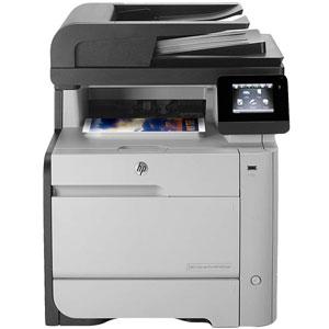 فروش اقساطی پرینتر چندکاره رنگی اچ پی مدل Laserjet Pro MFP M476dn