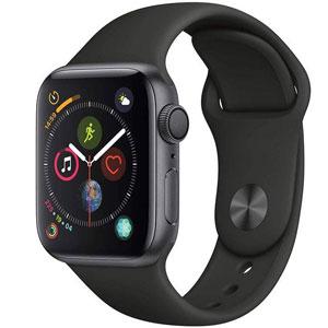 فروش اقساطی ساعت هوشمند اپل واچ سری 4 مدل 40mm Space Gray Aluminum Case With Black Sport Band