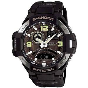 فروش اقساطی ساعت مچی عقربه ای مردانه کاسیو جی شاک GA-1000-1BDR