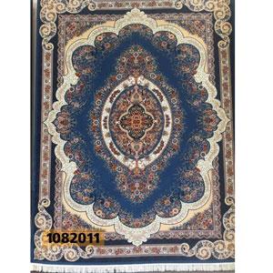 فروش اقساطی فرش تندیس خاطره کاشان طرح روناک زمینه آبی 12 متری کد 822011