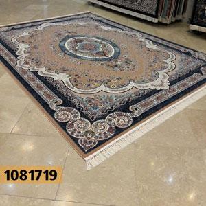 فروش اقساطی فرش تندیس خاطره کاشان طرح روناک زمینه بژ 12 متری کد 1081719