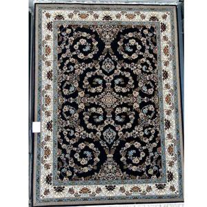 فرش تندیس خاطره طرح افشان زمینه مشکی 9 متری کد 7011613