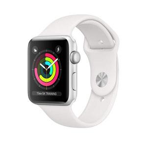 فروش اقساطی ساعت هوشمند اپل واچ سری 3 مدل 42mm Silver Aluminum Case with White Sport Band