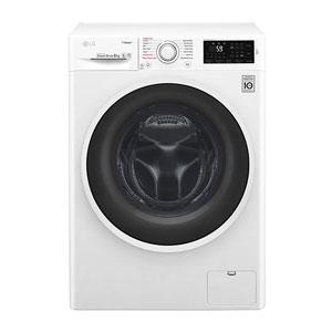 فروش اقساطی ماشین لباسشویی ال جی مدل wm-843 ظرفیت 8 کیلوگرم