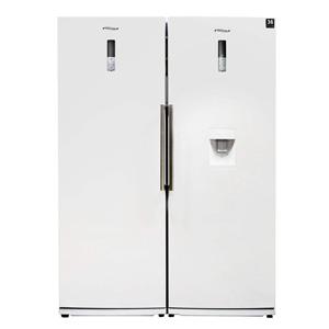 خرید اقساطی یخچال و فریزر دو قلوی امرسان مدل دیاموند