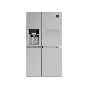 فروش اقساطی یخچال و فریزر ساید بای ساید دوو مدل D2S-0033SS