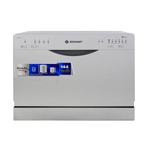فروش نقدی یا اقساطی ماشین ظرفشویی رومیزی زیرووات مدل ZDCF6
