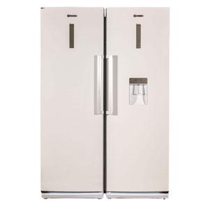 فروش نقدی یا اقساطی یخچال و فریزر دوقلو بنس مدل D4-B