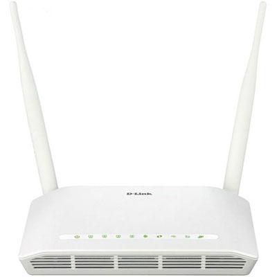 فروش نقدی یا اقساطی مودم روتر ADSL2 Plus بیسیم N300 دی-لینک مدل DSL-2750U New