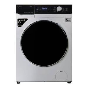 فروش نقدی و اقساطی ماشین لباسشویی جی پلاس مدل GWM-K1048S ظرفیت 10.5 کیلوگرم