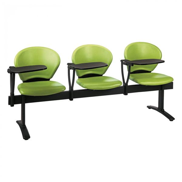 فروش نقدی و اقساطی صندلی انتظار چهار نفره با دسته دانش آموزی نیلپر مدل OCW 515N4