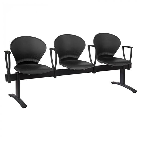 فروش نقدی و اقساطی صندلی انتظار چهار نفره دسته ثابت نیلپر مدل OCW 315L4