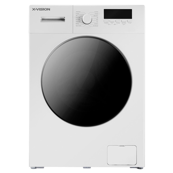 فروش نقدی و اقساطی ماشین لباسشویی ایکس ویژن مدل TE62-AW/AS ظرفیت 6 کیلوگرم