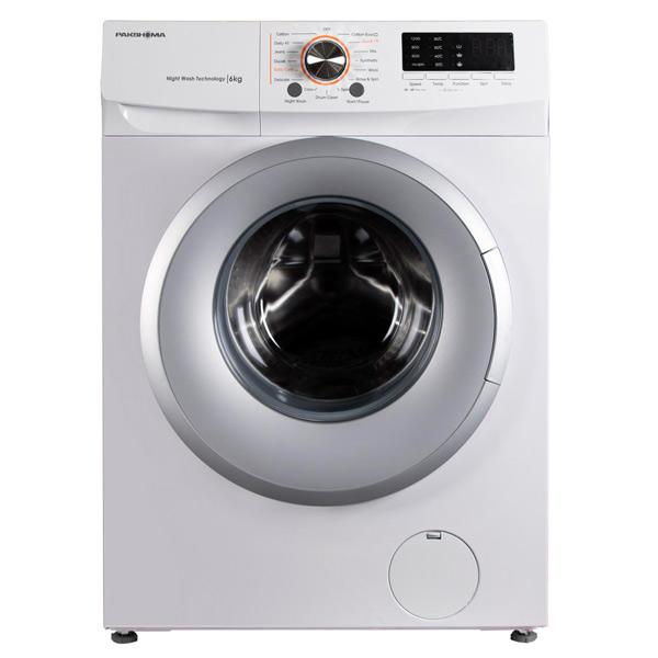 فروش نقدی و اقساطی ماشین لباسشویی پاکشوما مدل TFU-63100WS ظرفیت 6 کیلوگرم