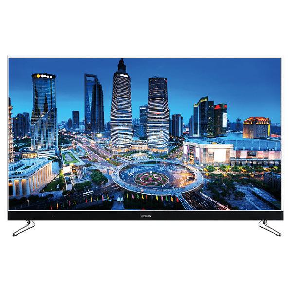 فروش نقدی و اقساطی تلویزیون ال ای دی هوشمند ایکس ویژن مدل 50XKU575 سایز 50 اینچ