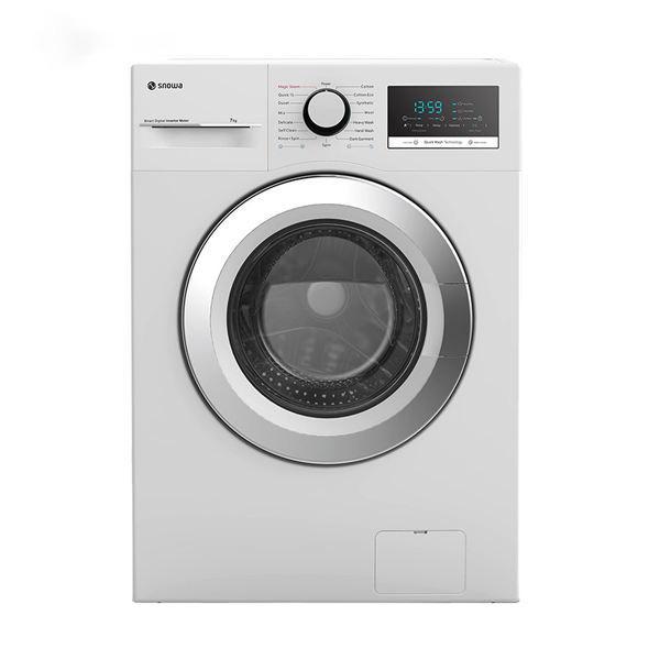 فروش نقدی و اقساطی ماشین لباسشویی اسنوا مدل SWD-474S ظرفیت 7 کیلوگرم