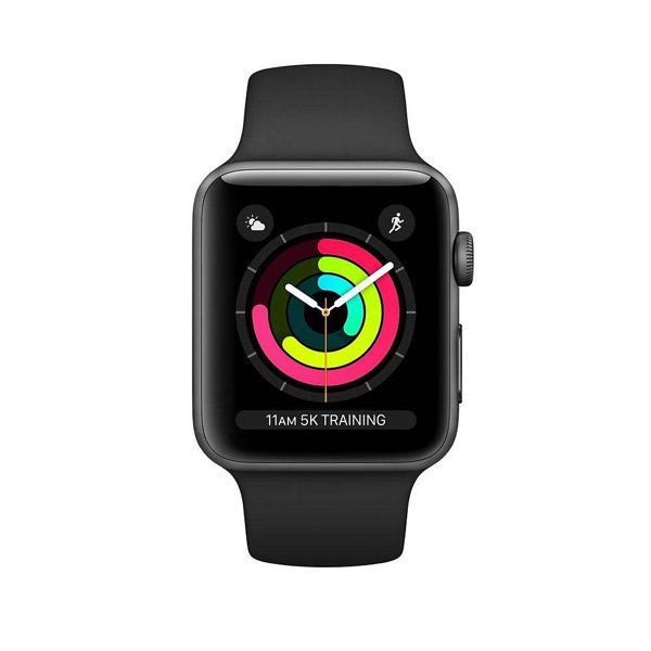 فروش نقدی و اقساطی ساعت هوشمند اپل واچ 3 مدل 42mm Space Aluminum Case with Sport Band